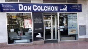 FACHADA DON COLCHON CALPE