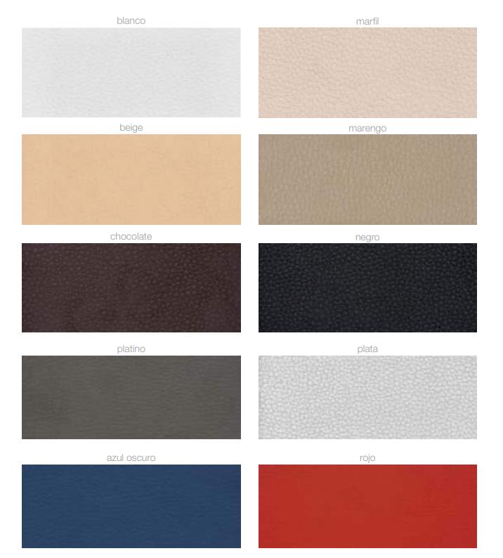 colores estandar comotex polipiel
