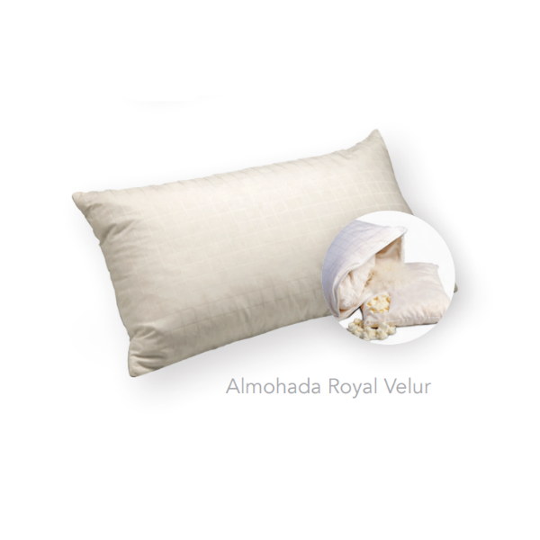 almohada royal velur
